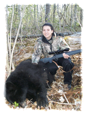 Bear Hunting in New Brunswick,Canada