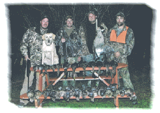migratory bird and grouse hunting in NB